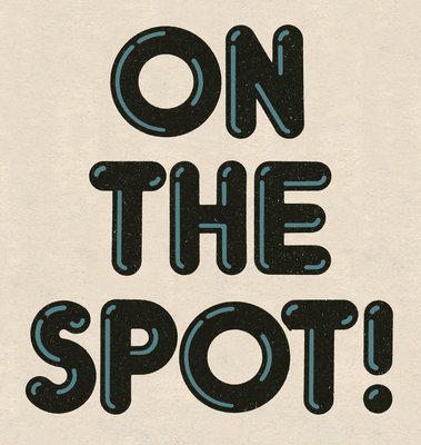 On The Spot by Vintage by Hemingway - print