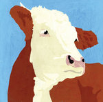 Cow by Andy Bridge - print