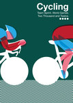 Cycling by Anthony Peters - print