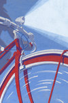 Red Bicycle by Andy Bridge - print