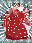 Red Lady by Cornelia O'Donovan - print