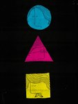 Cyan, Magenta, Yellow by Dale Edwin Murray - print