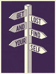 Get Lost by Dale Edwin Murray - print
