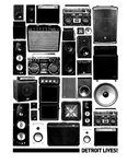 Speaker Stacks by Detroit Lives - print