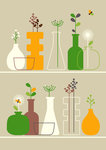 Vases by Dicky Bird - print