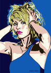 Debbie Harry - Two Times Blue by Emily Gray - print