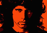 Jim Morrison - Fire by Emily Gray - print