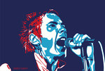 Johnny Rotten - God Save the Queen by Emily Gray - print