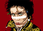 Adam Ant - Prince Charming by Emily Gray - print