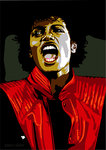 Michael Jackson - Thriller by Emily Gray - print