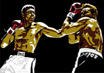 Muhammad Ali - Sting Like a Bee by Emily Gray - print