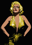Marilyn - Some Like it Hot by Emily Gray - print