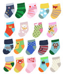 Baby Socks by Hanna Melin - print