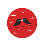 Love Birds by Jeremie Claeys - print