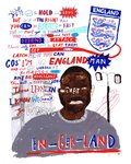 En-ger-land by Jess Wilson - print