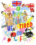 When a man is tired of London.. by Jess Wilson - print