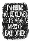 Drunk by Nicole Thompson - print