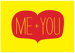Me + You by Nicole Thompson - print