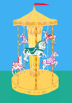 Seaside Carousel by Stacie Swift - print