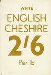 English Cheshire Poster Art Print by Vintage by Hemingway