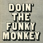 Doin' The Funky Monkey by Vintage by Hemingway - print