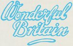 Wonderful Britain Poster Art Print by Dale Edwin Murray