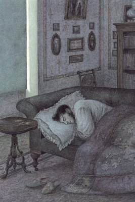 Anna Karenina by Leo Tolstoy, Illustration 2 by Angela Barrett - print