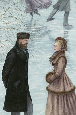 Anna Karenina by Leo Tolstoy, Illustration 3 by Angela Barrett - print