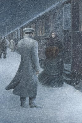 Anna Karenina by Leo Tolstoy, Illustration 4 by Angela Barrett - print