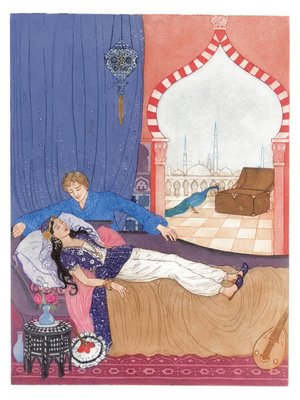 The Pink Fairy Book, Andrew Lang (ed.), Illustration 4 by Debra McFarlane - print