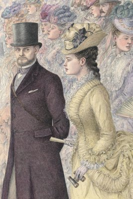 Anna Karenina by Leo Tolstoy, Illustration 6 by Angela Barrett - print