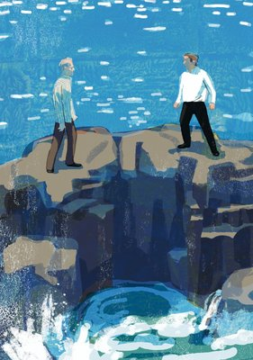 The Sea, The Sea 7 by Tatsuro Kiuchi - print