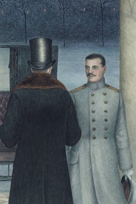 Anna Karenina by Leo Tolstoy, Illustration 8 by Angela Barrett - print
