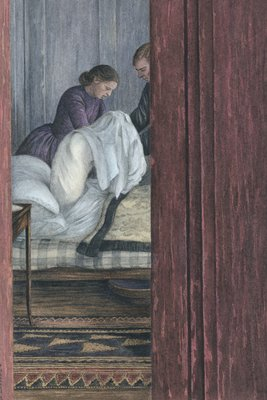 Anna Karenina by Leo Tolstoy, Illustration 11 by Angela Barrett - print