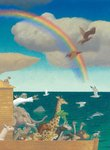 Children's Bible Stories, Illustration 2 by Peter Malone - print