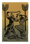 The Epic of Gilgamesh, Illustration 3 by Francis Mosley - print