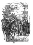 The Silver Branch by Rosemary Sutcliff, Illustration 4 by Roman Pisarev - print