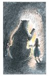 His Dark Materials: The Amber Spyglass by Philip Pullman, Illustration 5 by Peter Bailey - print