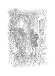 Germinal by Émile Zola, Illustration 5 by Philip Bannister - print