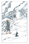 His Dark Materials: The Subtle Knife by Philip Pullman, Illustration 6 by Peter Bailey - print
