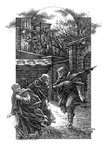 The Silver Branch by Rosemary Sutcliff, Illustration 7 by Roman Pisarev - print