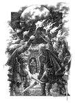The Silver Branch by Rosemary Sutcliff, Illustration 8 by Roman Pisarev - print