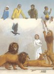 Children's Bible Stories, Illustration 9 by Peter Malone - print