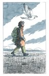 His Dark Materials: The Subtle Knife by Philip Pullman, Illustration 9 by Peter Bailey - print