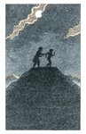 His Dark Materials: The Subtle Knife by Philip Pullman, Illustration 11 by Peter Bailey - print