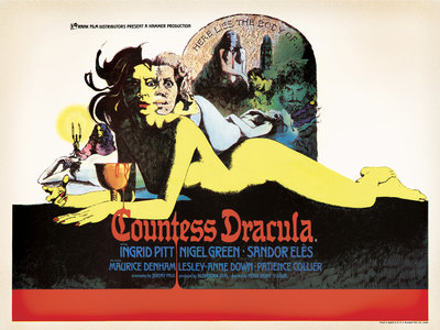 COUNTESS DRACULA (aged) by Vic Fair - print