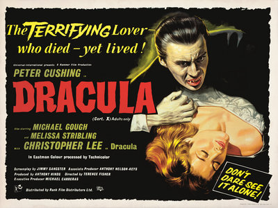 DRACULA (aged) by Bill Wiggins - print