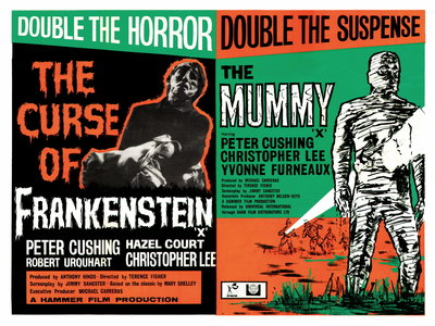 FRANKENSTEIN/THE MUMMY (restored) by Anonymous - print