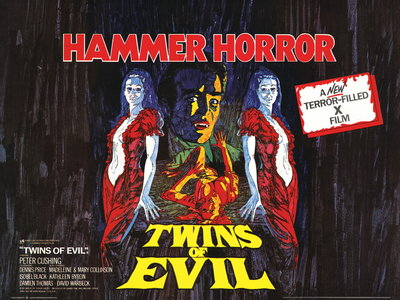TWINS OF EVIL (restored) by Mike Vaughan - print