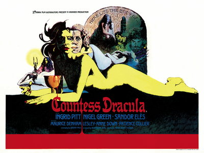 COUNTESS DRACULA (restored) by Vic Fair - print